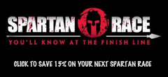 Save 15% on your next Spartan Race.